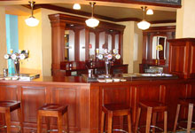 Bar - Quality Finishing Custom Cabinetry Services